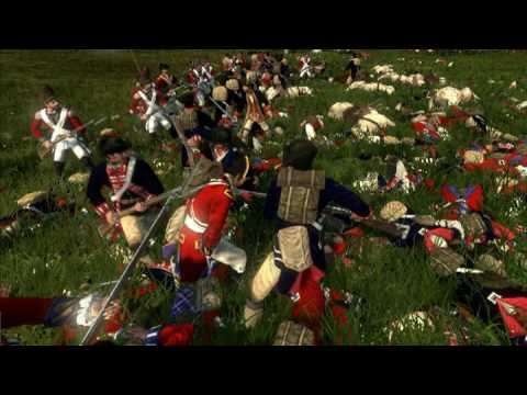 The Battle Of Brandywine Creek - Machinima From The Empire Total War Demo!