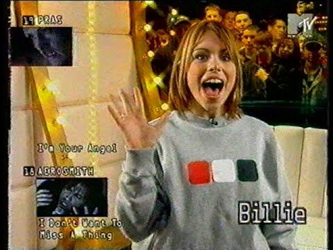 Billie  Hosting MTV Select 1998