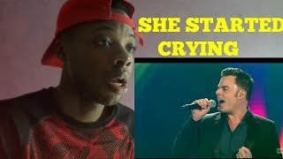 """Marc Martel - """"Somebody to Love"""" for Céline Dion- REACTION"""