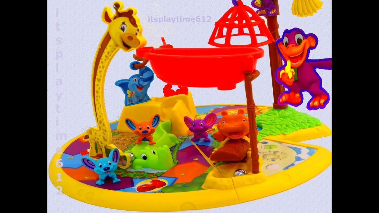 Mouse Trap Elefun Friends Family Game From Hasbro Gaming