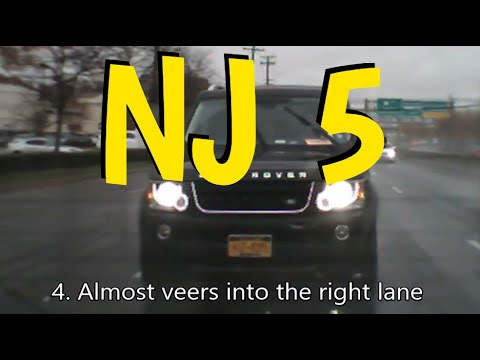 I Got A Rear Dash-Cam! Bad Drivers Of Northern New Jersey - Episode 5