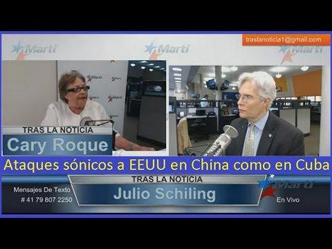 Ataques sónicos a EEUU en China como en Cuba