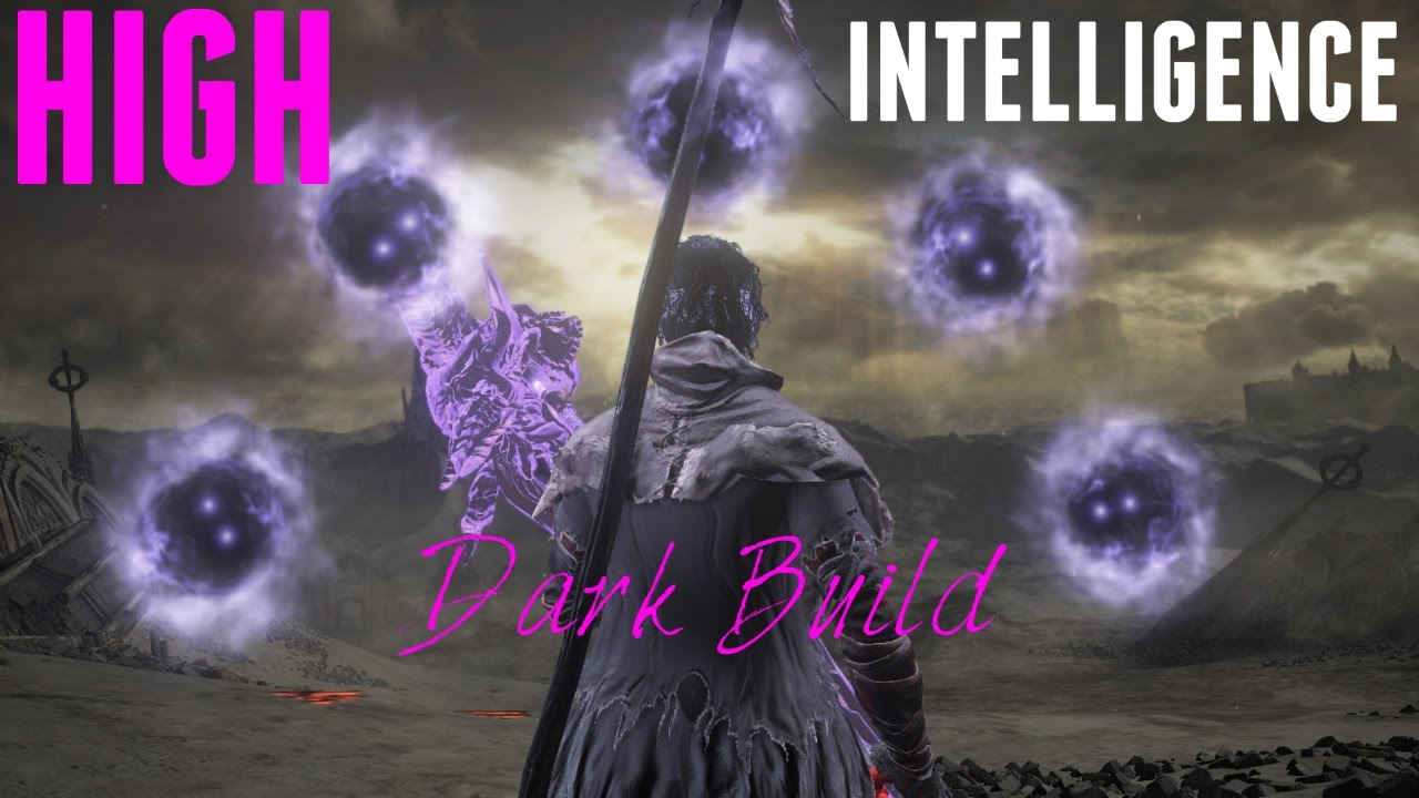 Dark Souls 3 - High Intelligence True Dark Build with Murky Longstaff &  Crucifix of the Mad King!