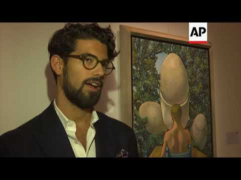 Million pound portraits on sale at Islamic art auction