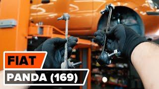 Vyměna zadní levý pravý Držák Brzdového Třmenu FIAT PANDA (169) - video návody