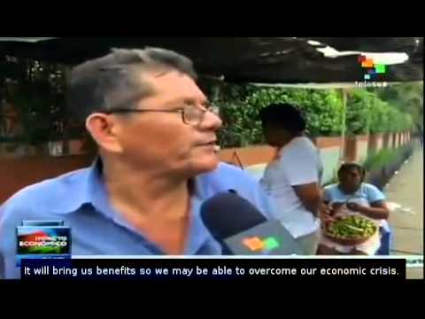 Construction of Interoceanic Canal would stimulate Nicaragua's economy