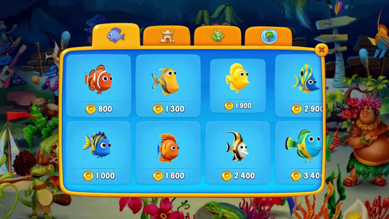 gioco fishdom da