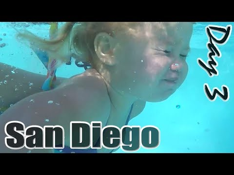 Slides at hotel, Living Coast Discovery Center, Mormon Battalion Historic Site // 3rd Day San Diego