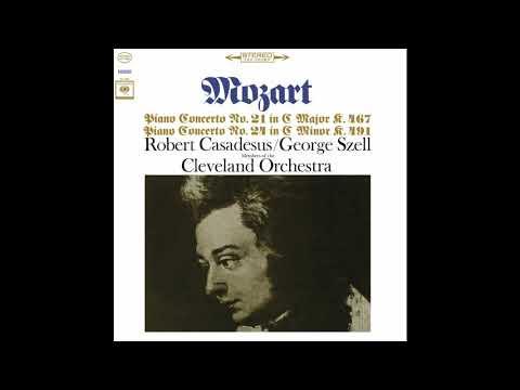 Mozart Piano Nos. 21 & 24 / Robert Casadesus (Remastered) (2018)