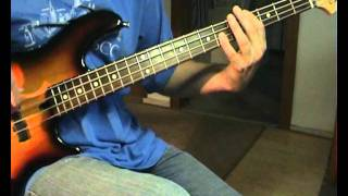 UB40 - Red Red Wine - Bass Cover