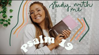 BIBLE STUDY WITH ME...PSALM 19