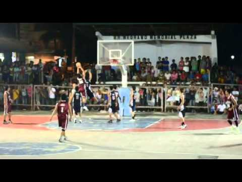 solid south west vs tcsc championship game ibaan intercluster basketball league 2013