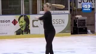 Tilburgse Kunstschaatsvereniging TKV goed vertegenwoordigd in de categorie dames junioren.
