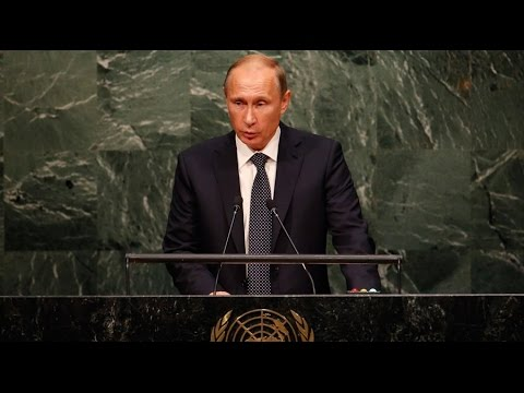 'Do you realise what you've done?' Putin addresses UNGA 2015