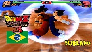 (PT-BR) A Ultima Fusão| Vegetto VS Majin Buu Dublado - Dragon Ball Z Budokai Tenkaichi 3 Brasil