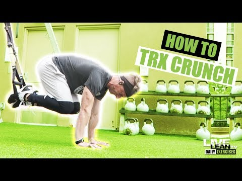 How To Do A TRX CRUNCH | Exercise Demonstration Video and Guide