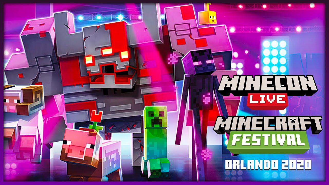 Resultado de imagen de minecraft festival 2020