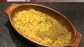 Jak zrobić kuskus z kurkumą i ziołami :: Skutecznie.Tv