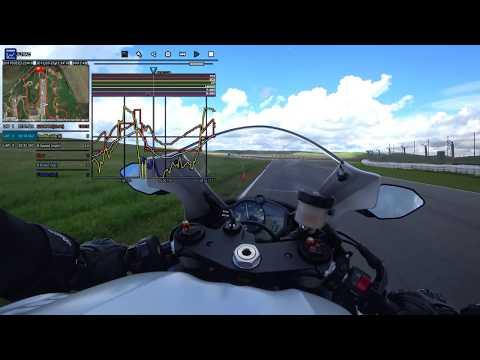 Yamaha CCU Lap Test on 2017 YZF-R6 at Thunderhill   4K