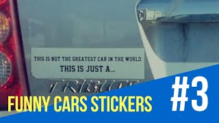 Funny Pictures | Funny Cars Stickers (30 Bumper Stickers) | Yabion | Part 3
