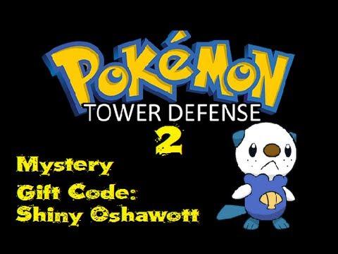 Pokemon tower defense 2 mystery gift code shiny oshawott v1 29