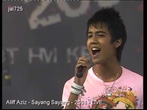 Aliff Aziz - Sayang Sayang - 2008 - LIVE