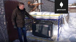 видео Газовый генератор Briggs Stratton 040494 (6 кВА)