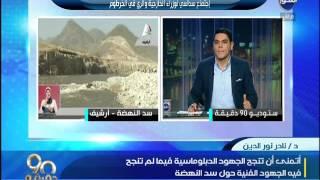 فيديو.. خبير مائي: سد النهضة يدخل مصر مرحلة الفقر المائي المدقع