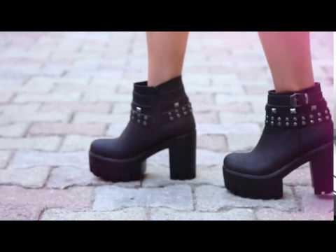Kalın Topuklu Bot Pelin Ayakkabı