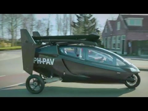PAL-V One Flying Car Driving Test [720p]