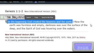 Start of Time to Flood and More Proof of the Firmament Above