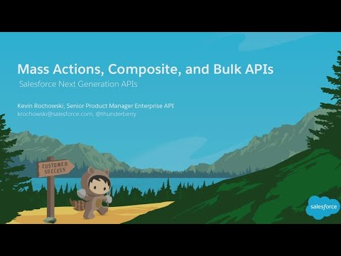 Mass Actions, Composite, and Bulk APIs: Next-Gen Enterprise