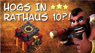 Wie man Hogs in TH10 benutzen kann | Neue 3 Sterne Taktik | QW + GoBoVaHo | Clash of Clans