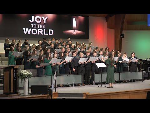 Неділя, 22 грудня 2019. Вечірнє Різдвяне Богослужіння. Candlelight Service.