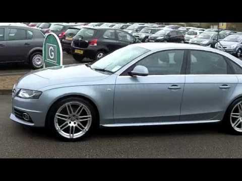 Audi a4 diesel saloon 2009 2 0 tdi 143 s line 4dr for S line exterieurpaket a4