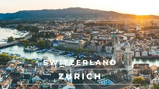 Zurich Switzerland in 4k cinematic | Beautiful Zur...