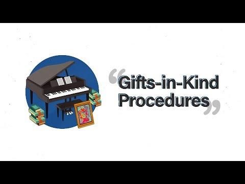 Accounting Handbook: Gifts-in-Kind