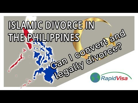 Converting to Islam in the Philippines to Legally Divorce?