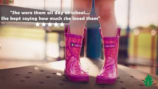 Girls Anytime Rain Boots - Who says rain boots are only for the rain?