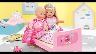 Беби Борн Старшая сестренка Распаковка куклы BABY BORN сестричка Видео обзор от SUPER SISTERS