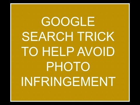 Google secret trick to help avoid photo infringement