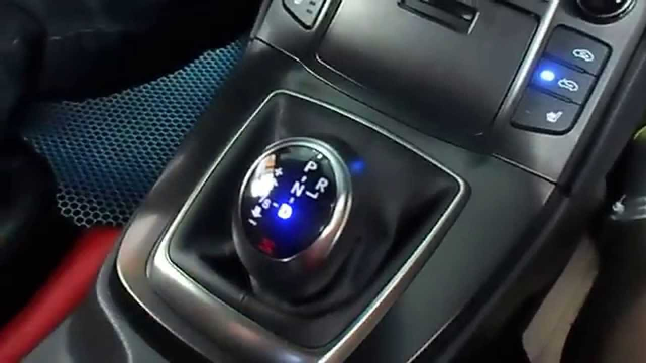 2014 Hyundai New Genesis Coupe Newfaces Gear Knob Youtube