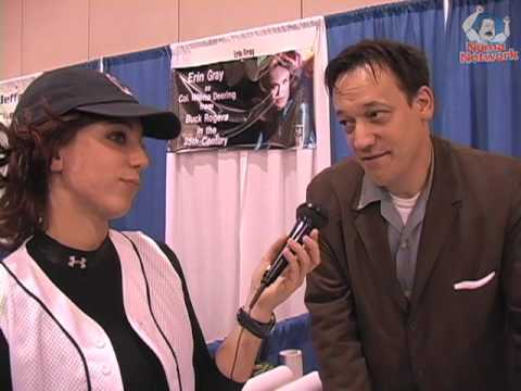 with SpiderMan actor Ted Raimi