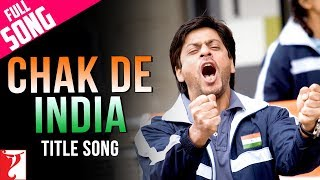 Chak De India - Music Video - Shah Rukh Khan