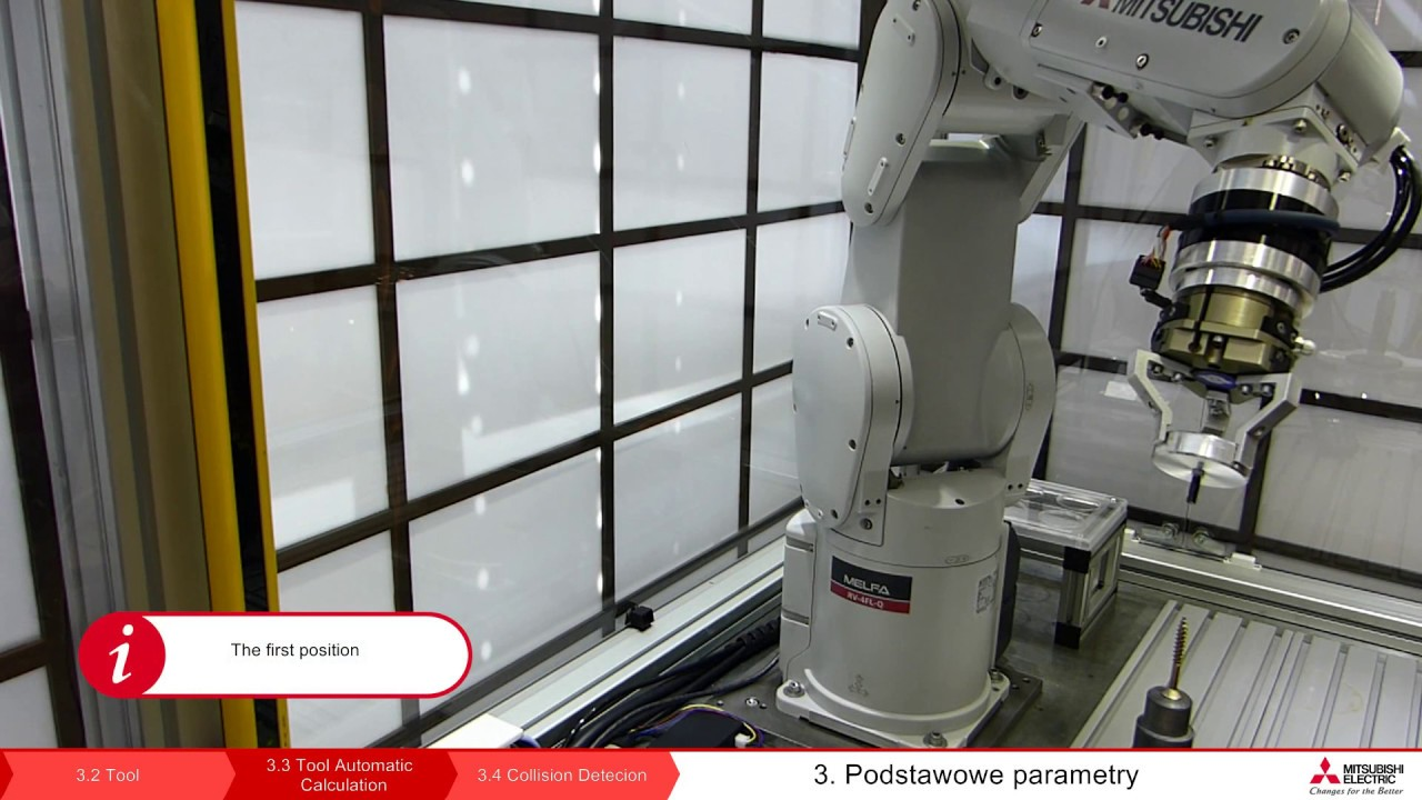 Robot melfa programming lesson 3 3 procedure tool for Ep ptable queue proc