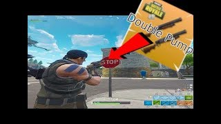 Fortnite Saison 6 Double Pump Glitch! (Travail)