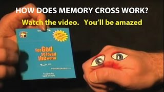 Memory Cross: How to fold an endless loop card