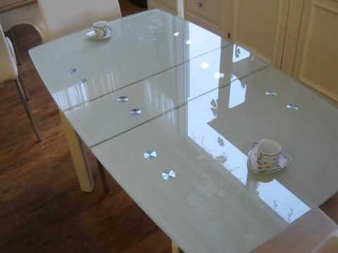 www.ctol.com.ua - Стеклянный стол (С406)