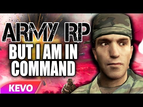 ARMY RP but I am in command - YouTube
