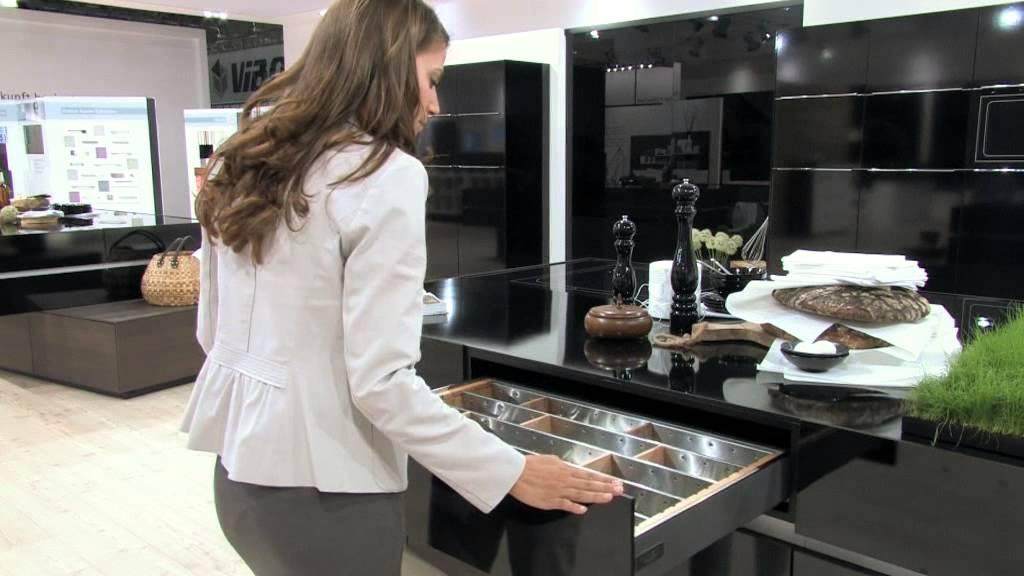 Herrajes y accesorios de cocina de Hettich  YouTube